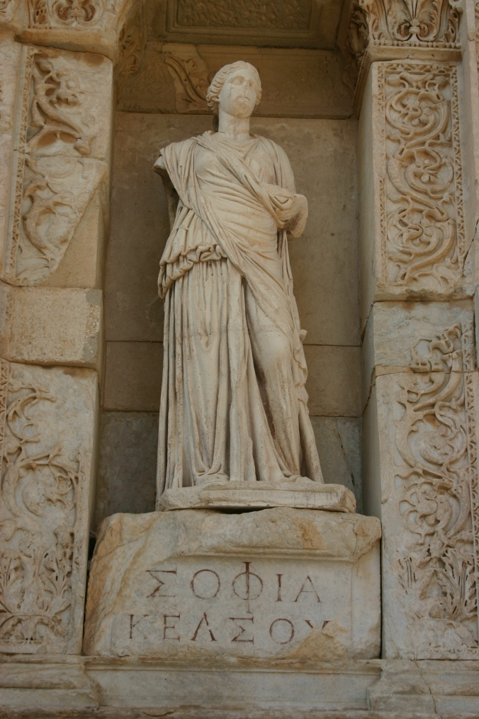 14.25_Sophia_(Wisdom)_in_the_Celsus_Library_in_Ephesus
